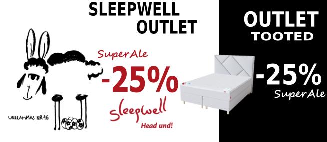 Sleepwell. SuperAle. Voodike.ee madratsid voodid pikk